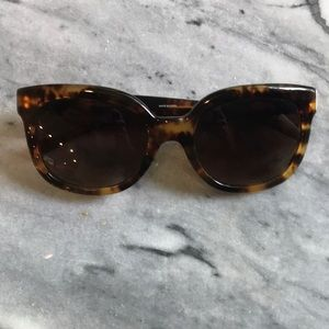 Tory Burch Modern T Cat Eye Sunglasses